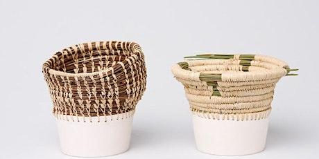 Weaving onto Ceramics tickets