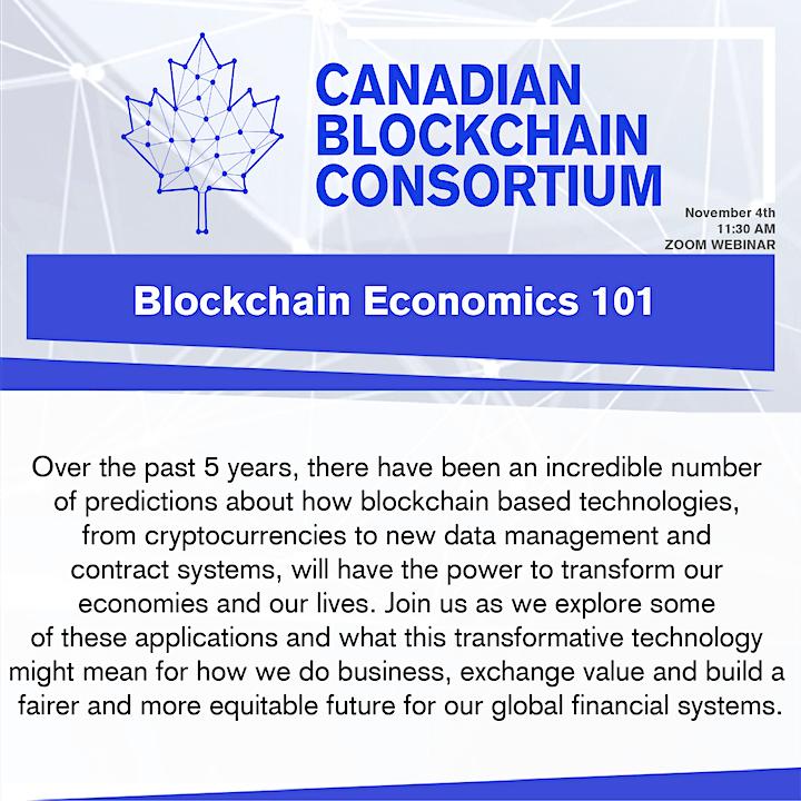 Blockchain Economics Class image