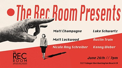 The Rec Room Presents tickets