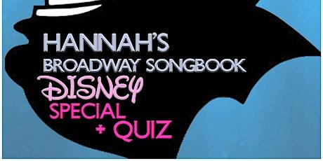 Broadway Songbook - Disney edition (plus quiz) tickets
