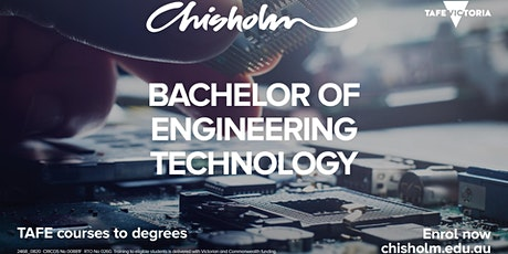 Taster class - Bachelor of Engineering Technology tickets