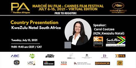 Country Presentation - KwaZulu Natal South Africa tickets
