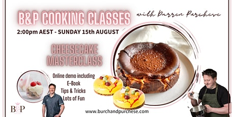 Darren Purchese Masterclass: Cheesecakes; Baked, Set & Whipped tickets