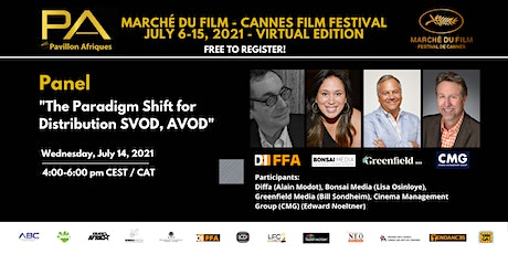 Panel: The Paradigm Shift for Distribution SVOD, AVOD tickets