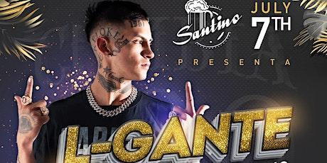 Santino Presenta L-GANTE en Playa del Carmen boletos
