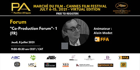 Co-Production Forum (FR) - 1 tickets