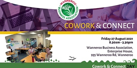 Co-Work & Connect tickets