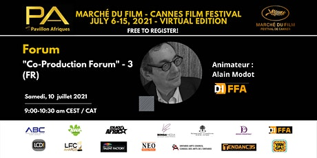 Co-Production Forum (FR) - 3 tickets