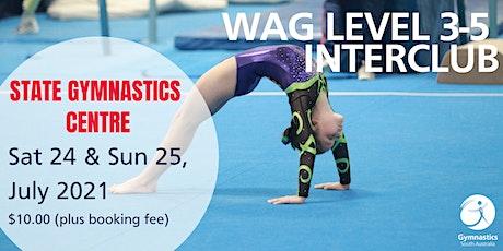 WAG Level 3-5 Interclub tickets