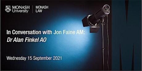 In Conversation With Jon Faine AM: Dr Alan Finkel AO tickets
