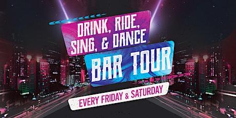 """San Diego """"Drink, Ride, Sing, & Dance!"""" Bar Tour tickets"""