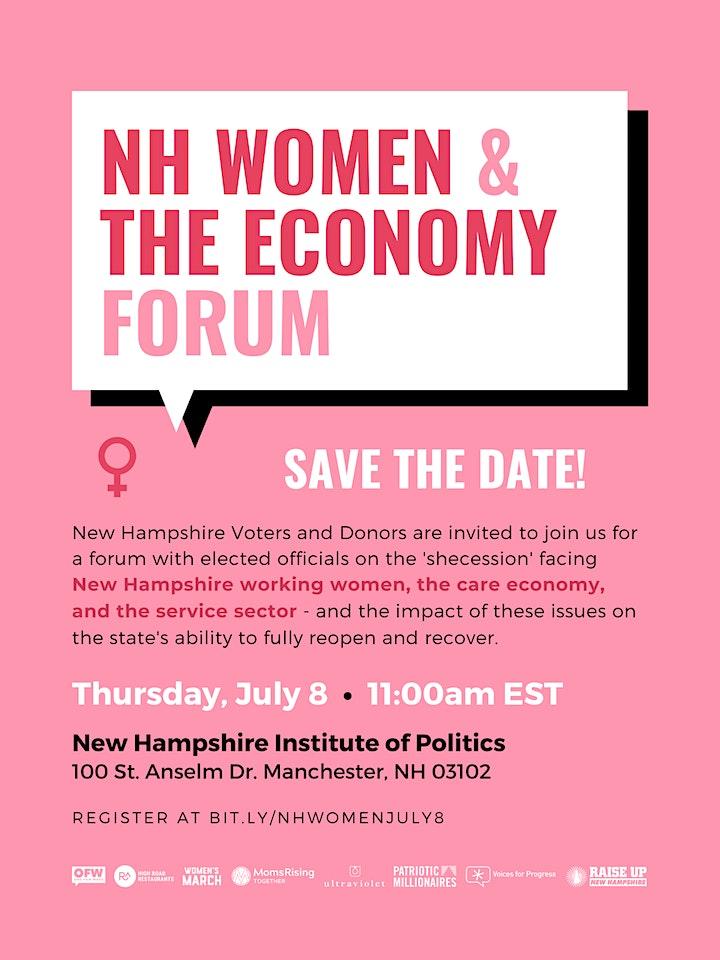 NH Women & The Economy Forum image