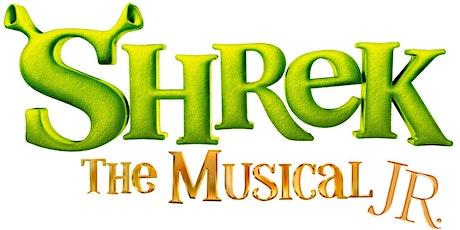 Shrek The Musical Jr tickets