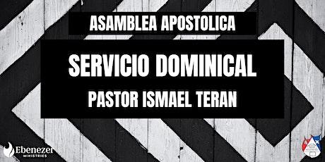 Servivio Dominical tickets