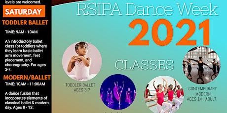 RSIPA Chicago Dance Week tickets
