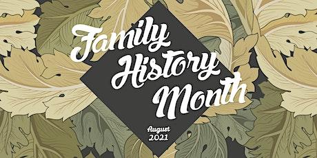 Family History Talks at Pāpāmoa Library tickets