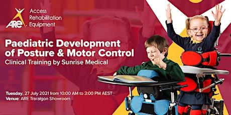 Paediatric Development of Posture & Motor Control tickets