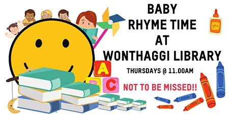 Rhyme Time at Wonthaggi Library tickets
