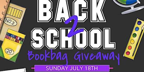 2nd Annual Back 2 School Bookbag Giveaway-Drive Thru tickets