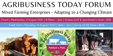Agribusiness Today Forum 2021 tickets