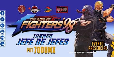 "Torneo KOF 98 ""El Jefe de Jefes"" (amateur/profesional) entradas"