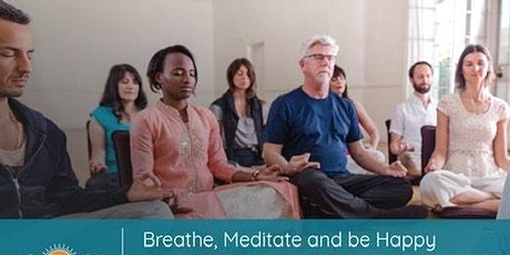 Breathe Meditate and Be Happy tickets