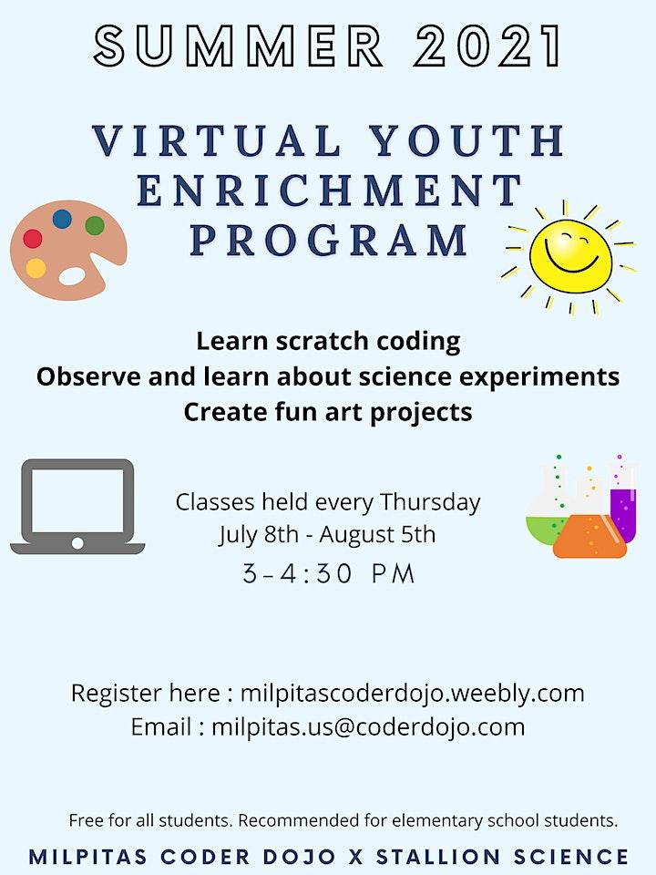 Virtual Summer Youth Enrichment Program image