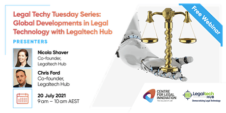 LTTS: Global Developments in Legal Technology with Legaltech Hub tickets