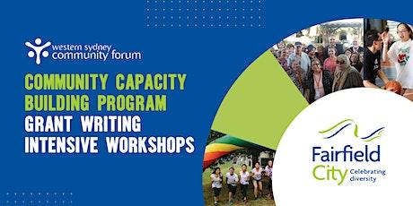 Community Capacity Building Program - Grant Writing Intensive Workshops tickets
