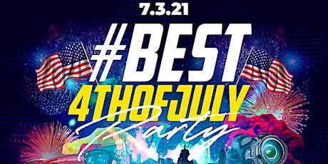 #Best4thOfJulyParty at Taj II • Hip-Hop + Reggae + Soca • Everyone FREE! tickets