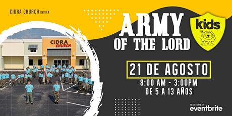 KIDS ARMY OF THE LORD / INVASION TERRITORIAL 2021 tickets