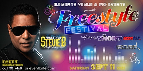 Freestyle Festival 2021 f/Stevie B tickets