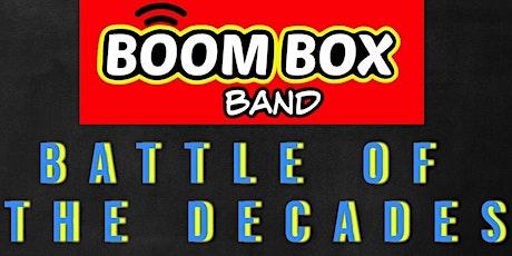 Boom Box Band 80's v 90's tickets