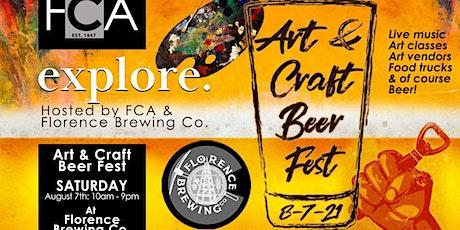 Art & Craft Beer Fest August 7, 2021 tickets