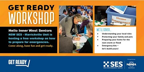 Flood & Storm Safe - Get Ready Inner West Seniors! tickets