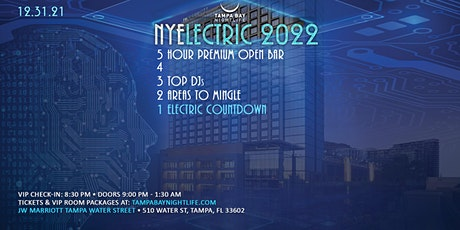 Tampa New Year's Eve Party Countdown - NYElectric 2022 tickets