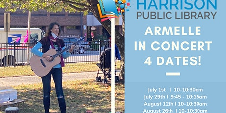 MUSIC | SUMMER READING at Harrison Public Library tickets