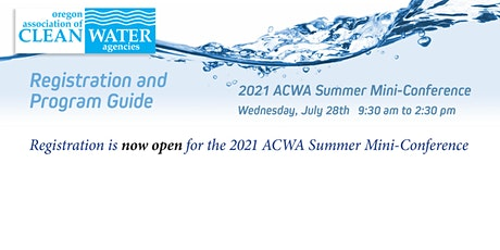 Copy of 2021 ACWA Summer Mini-Conference tickets