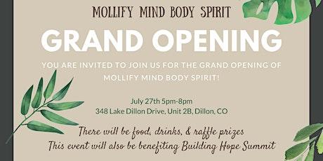 Mollify Mind Body Spirit Grand Opening! tickets