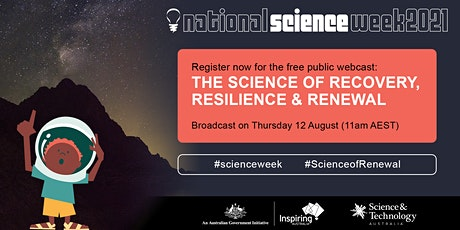 2021 Science Week Launch + Science of Recovery, Resilience & Renewal tickets