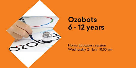 Ozobots (6 -12 yrs) for Home Educators @ Huonville Library tickets