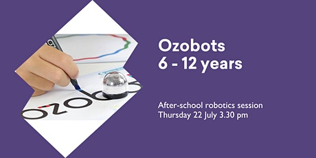 Ozobots (6 -12 yrs) @ Huonville Library tickets