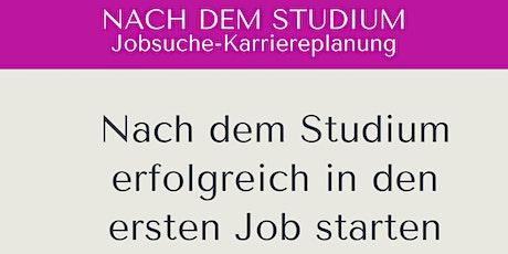 Nach dem Studium den richtigen Job finden - Jobcoaching mit AVGS Gutschein Tickets