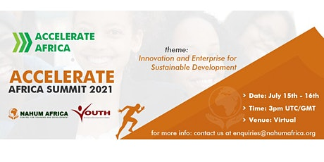 ACCELERATE AFRICA SUMMIT tickets