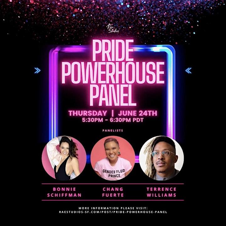 Pride Powerhouse Panel   Rae Studios image