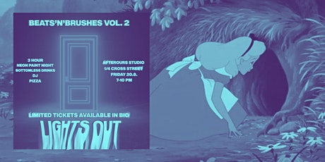 Beats'n'Brushes Vol.2.1 - LIGHTS OUT tickets