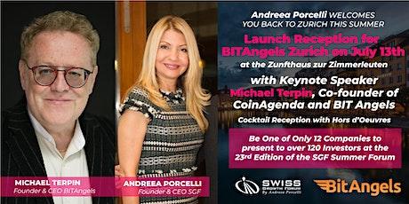 Launch Reception for BITAngels Zurich on July 13th Tickets