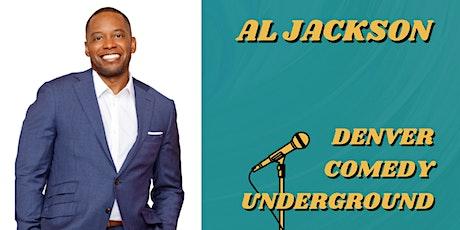 Denver Comedy Underground: Al Jackson (Daily Blast Live, HBO) tickets