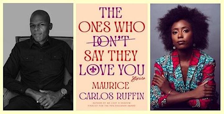 Maurice Carlos Ruffin in conversation with Zakiya Dalila Harris image