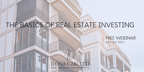 The Basics of Real Estate Investing tickets